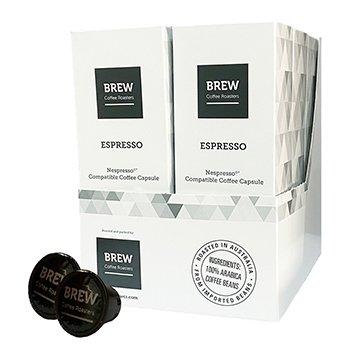 Brew Coffee Roasters 5.2g capsules x 10