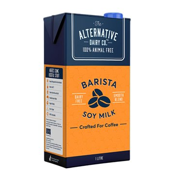 The Alternative Dairy Co Soy Milk 1ltr x 12