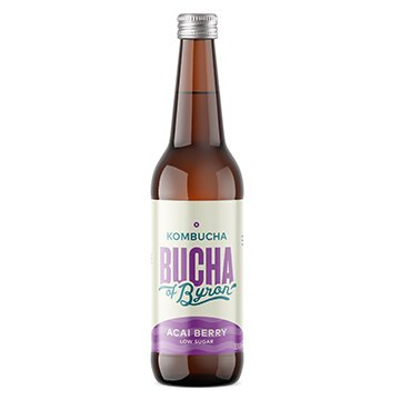 The Bucha of Byron Kombucha ACAI BERRY 330ml x 12