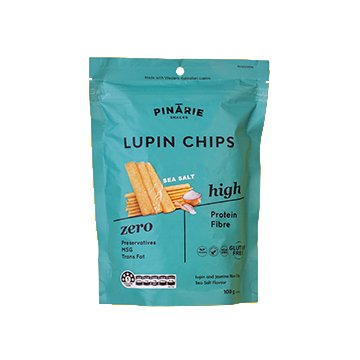Pinarie Lupin Chips Sea Salt 100g x 12