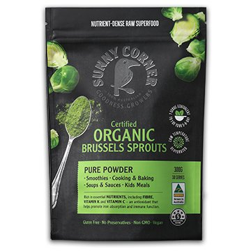 Sunny Corner Farm Brussels Sprouts Powder 150g