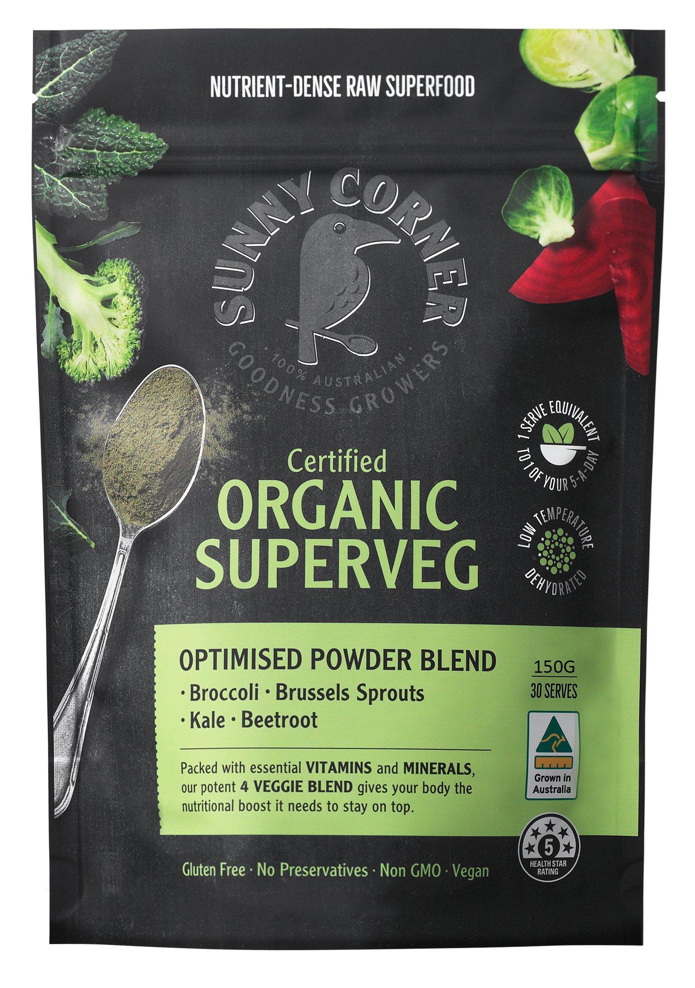 Sunny Corner Farm Superveg Powder 150g