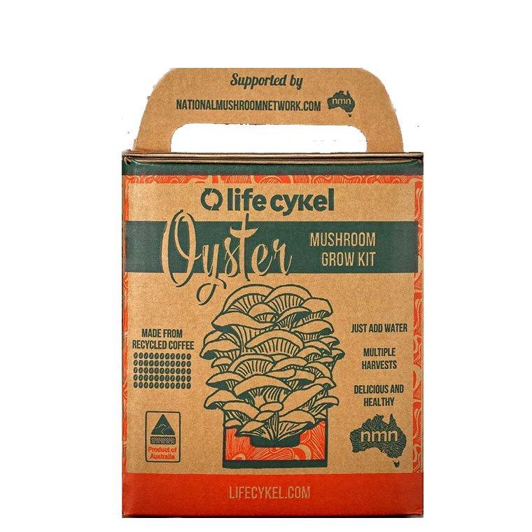Life Cykel Oyster Mushroom Grow Kit