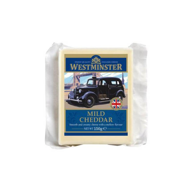 Westminster Mild Cheddar Cheese 9 x 150g