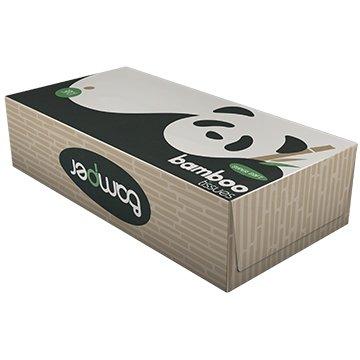 Bamper 100% Bamboo Tissue Box 120 3Ply x 20