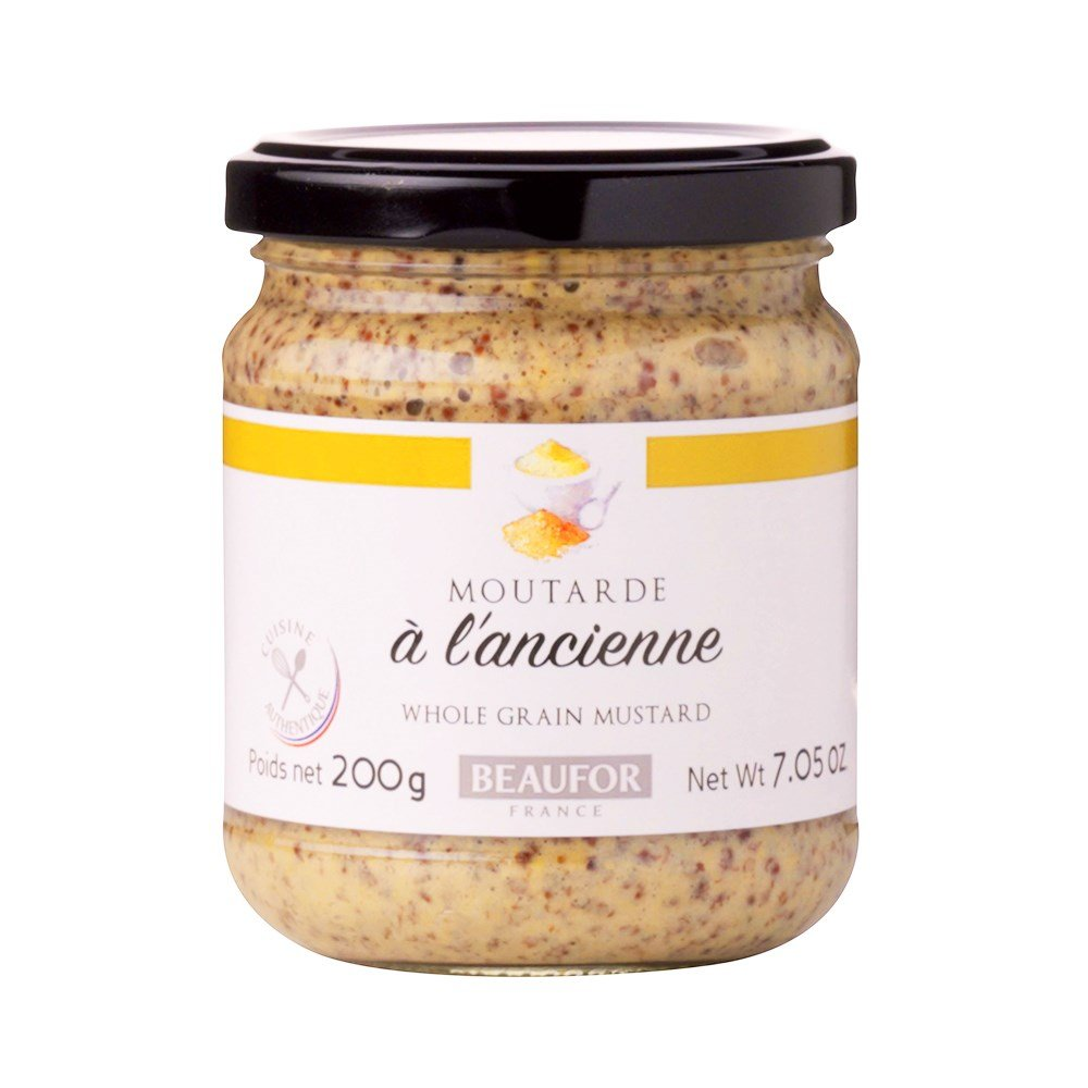 Beaufor French Wholegrain Mustard 200g