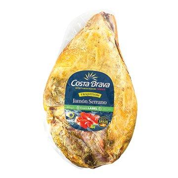 Costa Brava Jamon Serrano Corte 5kg