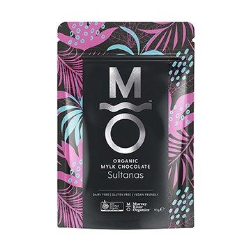 Murray River Organics Organic Mylk Chocolate Australian Sultanas 110g