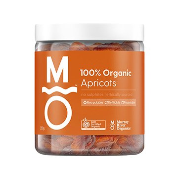 Murray River Organics Organic Apricots 350g