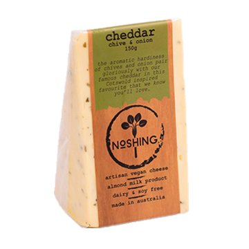 Noshing Cheddar with Chive & Onion 150g x 6