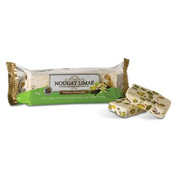 Nougat Limar Nougat Vanilla Pistachio Half Log 150g
