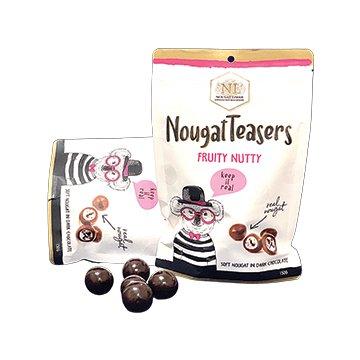 Nougat Limar Nougat Teasers Fruity Nutty Dark Chocolate 150g