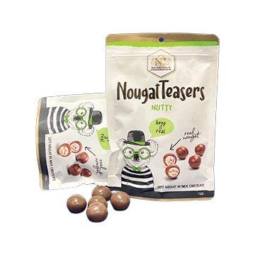 Nougat Limar Nougat Teasers Nutty Milk Chocolate 150g