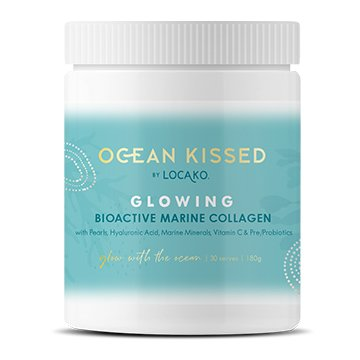 Ocean Kissed by Locako Glowing Marine Collagen W/ Hyaluronic Acid 180g