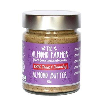 The Almond Farmer Crunchy Almond Butter 250g