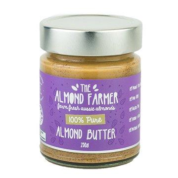 The Almond Farmer Smooth Almond Butter 250g
