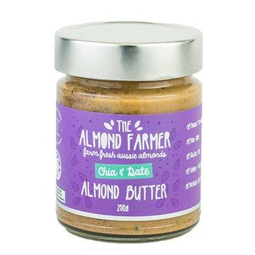 The Almond Farmer Chia + Date Almond Butter 250g