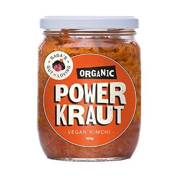 PowerKraut Organic Vegan Kimchi 450g x 6