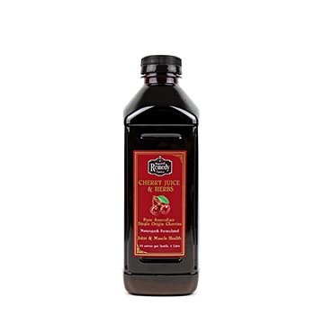 Natural Remedy Tonics Cherry Juice + Herbs 1ltr