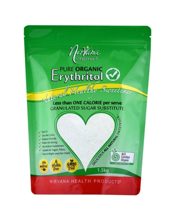 Nirvana Organic Erythritol 1.5kg