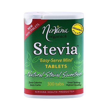 Nirvana Organic Stevia Easy-Serve Mini 300tabs