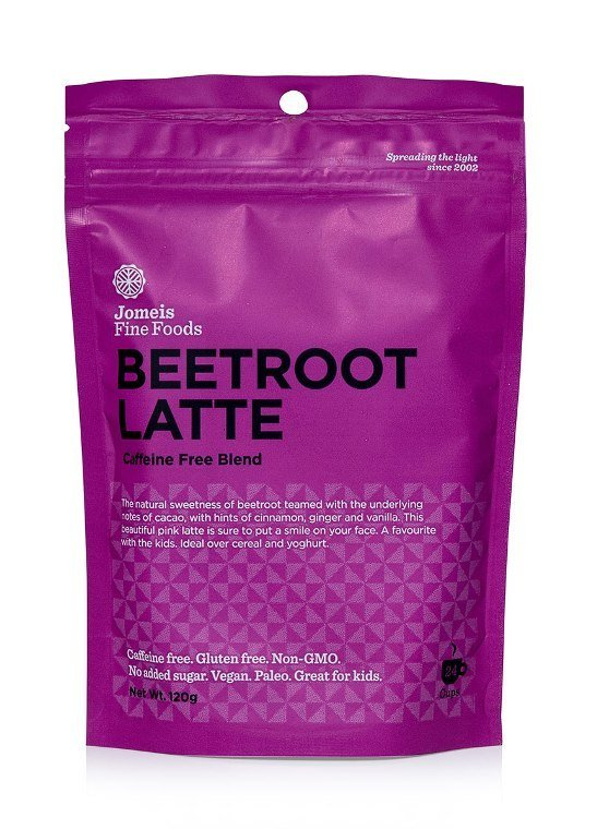 Jomeis Beetroot Cacao Latte 120g x 6 Display Box