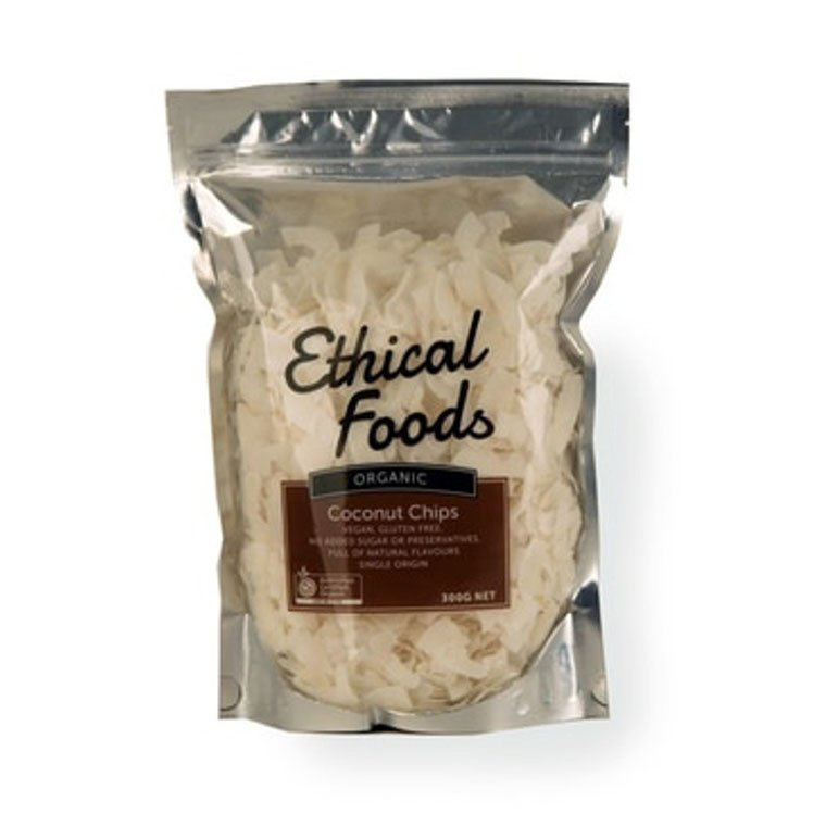 Ethical Foods Organic Coconut Chips 300g