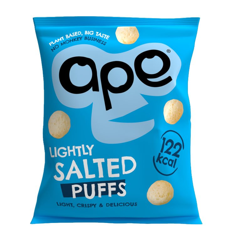 Ape Coconut & Rice Puffs Lightly Salted 25g x 24