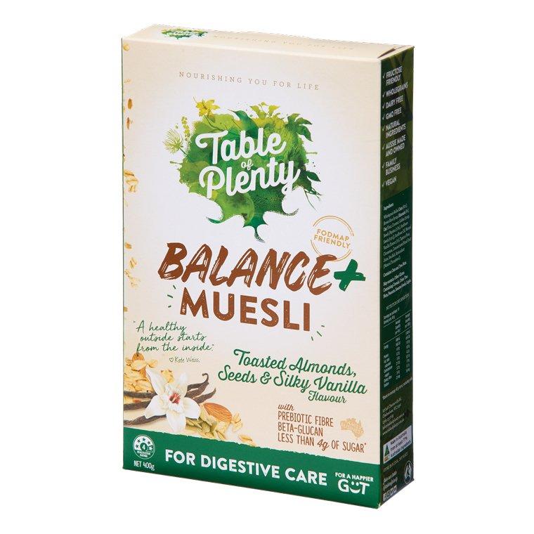 Table of Plenty Muesli Balance Plus 400g