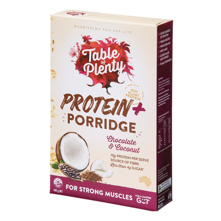 Table of Plenty Porridge Protein Plus 400g