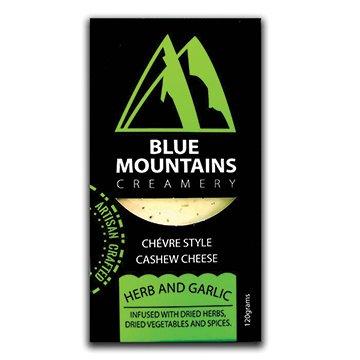 Blue Mountains Creamery Cashew Cheese Herb & Garlic  120g x 6