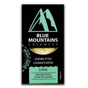 Blue Mountains Creamery Cashew Cheese Chive 120g x 6