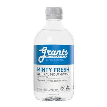 Grants Xylitol Natural Mouthwash 500ml