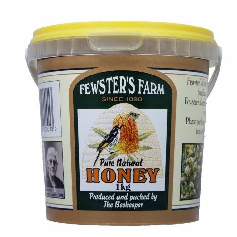 Fewsters Farm Pure Natural Honey 1kg