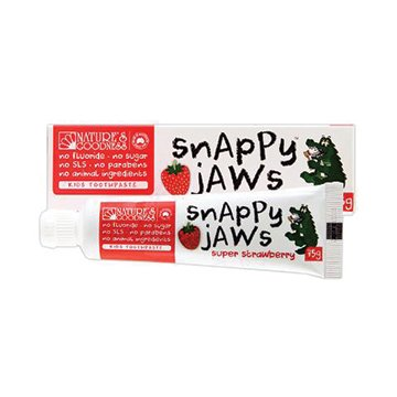 Natures Goodness Snappyjaws Kids Toothpaste Strawberry 75g