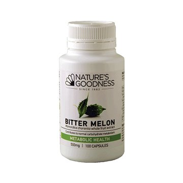 Natures Goodness Bitter Melon 500mg 100 caps