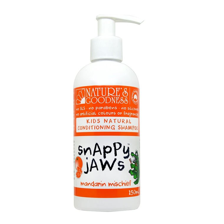 Natures Goodness Snappy Jaws Kids Natural Conditioning Shampoo 250ml