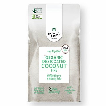 Natures Lane Organics Coconut Fine 250g