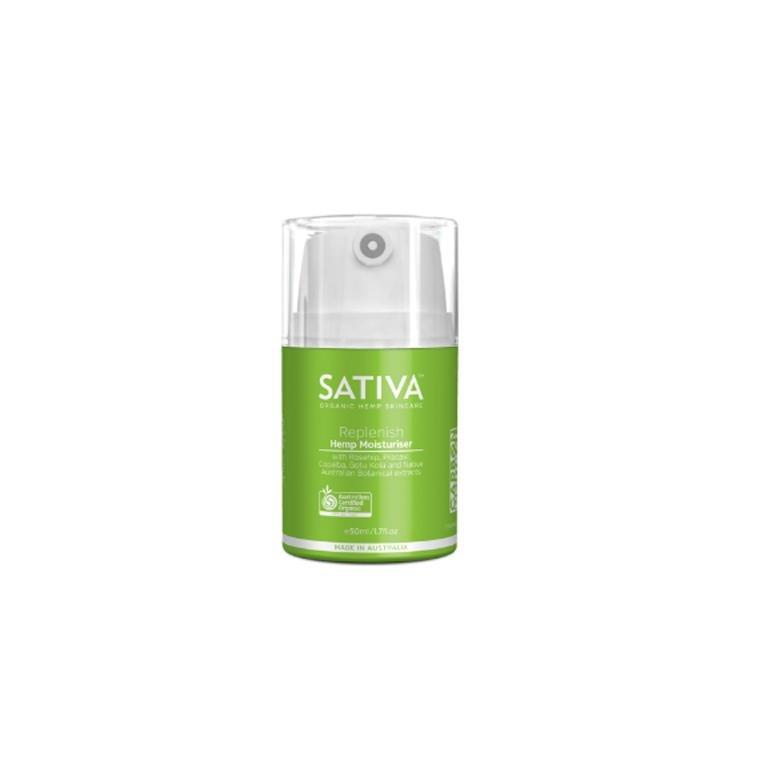 Sativa Organic Hemp Moisturiser REPLENISH 50ml