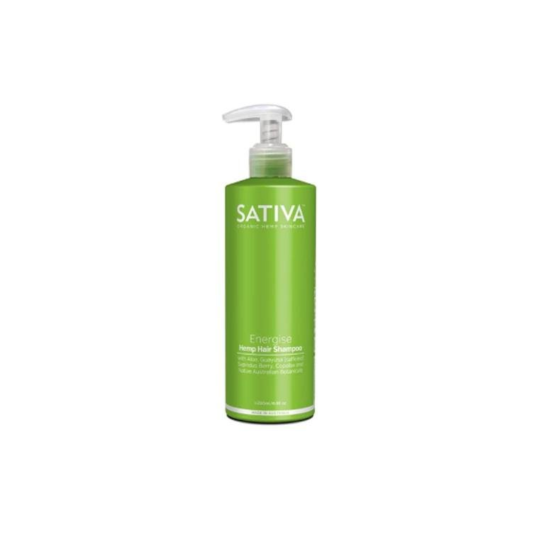 Sativa Organic Hemp Shampoo ENERGISE 200ml
