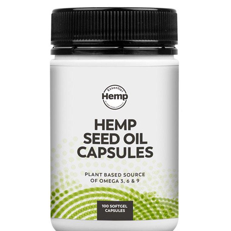 Hemp Foods Hemp Oil Capsules 100caps
