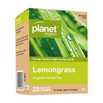 Planet Organic Lemongrass Tea 25t-bags