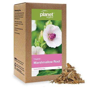 Planet Organic Marshmallow Root Loose Leaf Tea 75g
