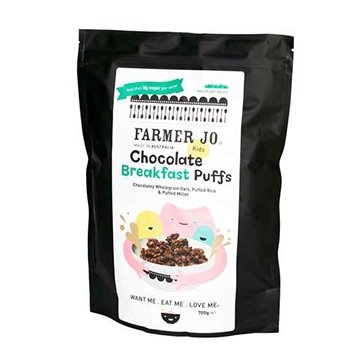 Farmer Jo Kids Chocolate Breakfast Puffs 700g