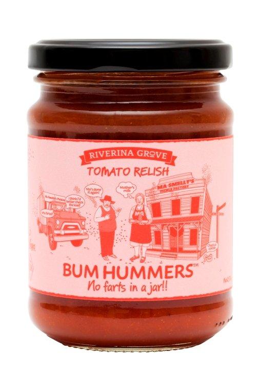 Bum Hummers Tomato Relish 250g