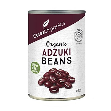 Ceres Organic Adzuki Beans 400g Can