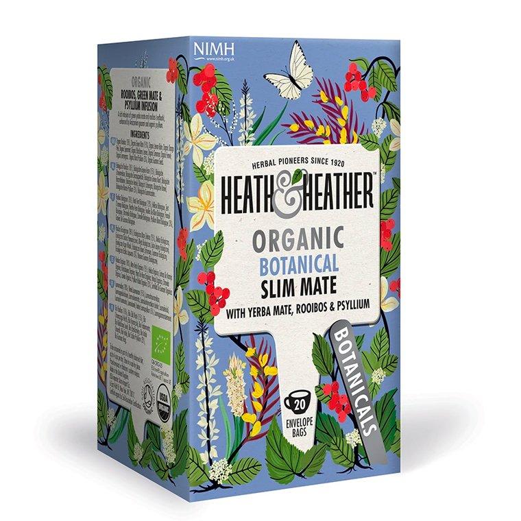 Heath and Heather Organic Botanical Slim Mate 20 Tea Bags