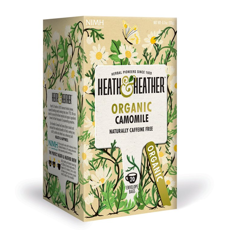 Heath and Heather Organic Chamomile 20 Tea Bags