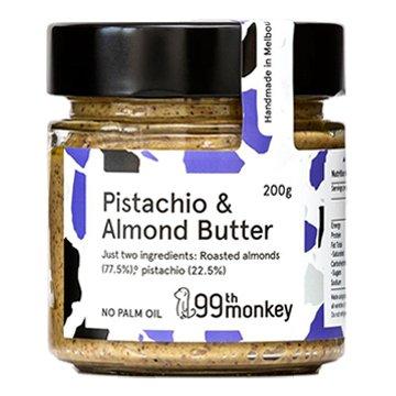 99th Monkey Pistachio Almond Butter 200g