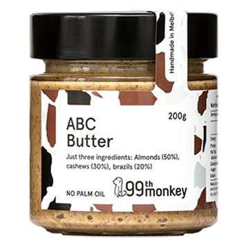 99th Monkey ABC Butter (Almonds, Brazils and Cashews) 200g